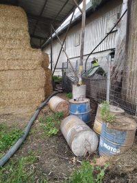 שאיבת ביוב בחווה