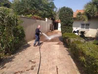 פתיחת סתימות בלחץ מים גבוה