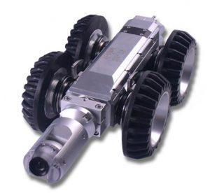 רובוט לניסור בטון בצנרת