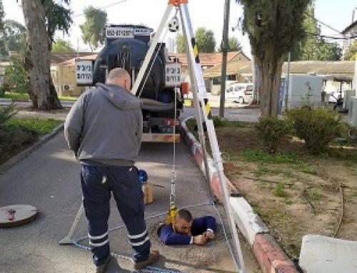 בטיחות בעבודות ביובית